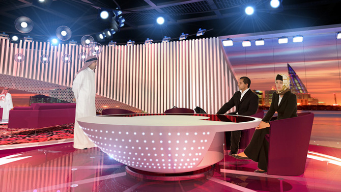 Design Shows On Tv Inspiration Bahrain Tv  Show Studio Bahrain  Flint Skallen Inspiration