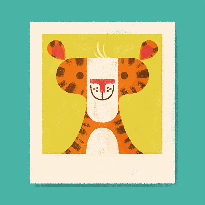 Wild Polaroids Lydia Nichols Illustration Design