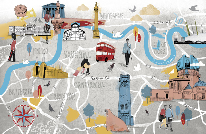 Map of london bbc focus magazine tonwen jones gumiabroncs Image collections